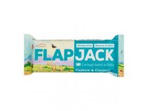 Flapjack ovesný kešu-kokos bezlepkový 80 g WHOLEBAKE