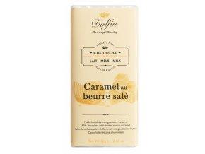 mléčná čokoláda slaný karamel dolfin
