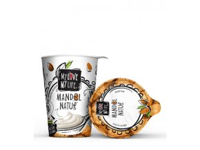 mandlový jogurt my love my life