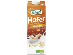 natumi ovesný mandlový nápoj