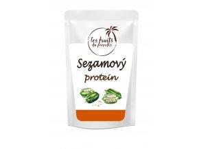 Sezamovy protein s sackem