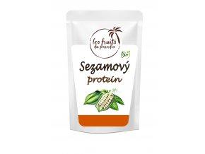 Sezamovy protein Bio s sackem