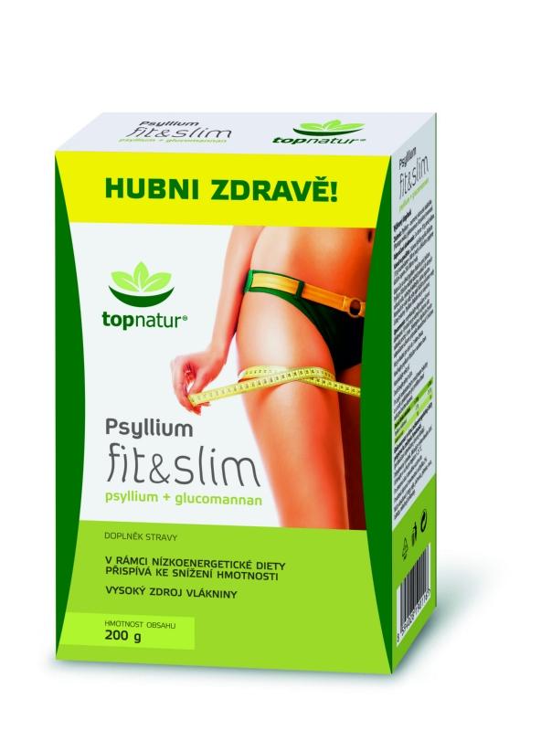 Psyllium fit&slim 200 g topnatur