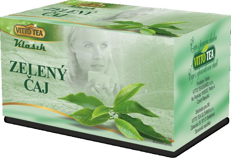 ZELENÝ ČAJ KLASIK 30g Vitto Tea