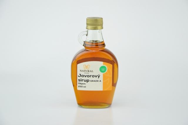 JAVOROVÝ SIRUP Grade A 250 ml BIONEBIO