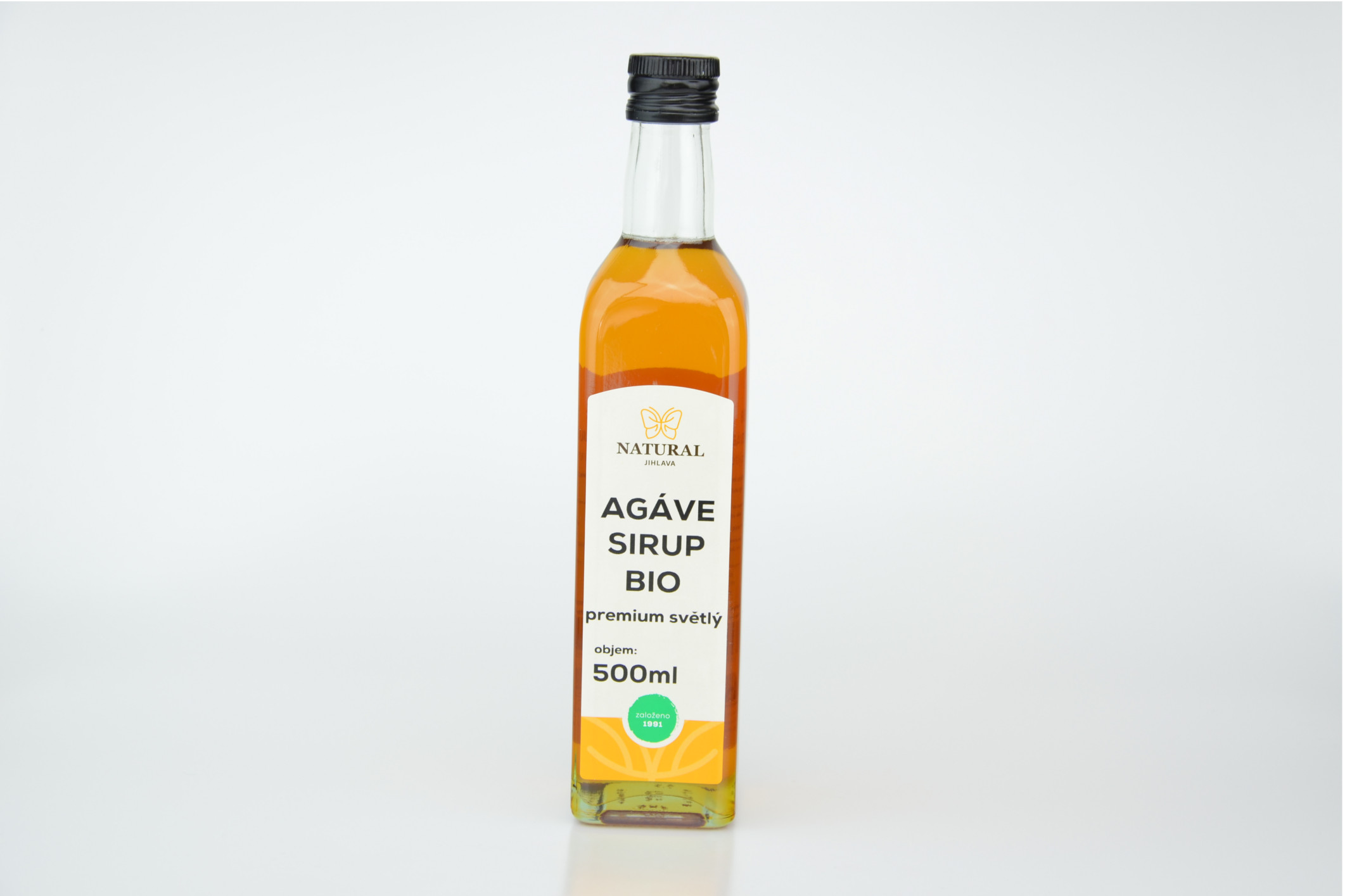 AGÁVOVÝ SIRUP BIO 500ml VIA NATURAE