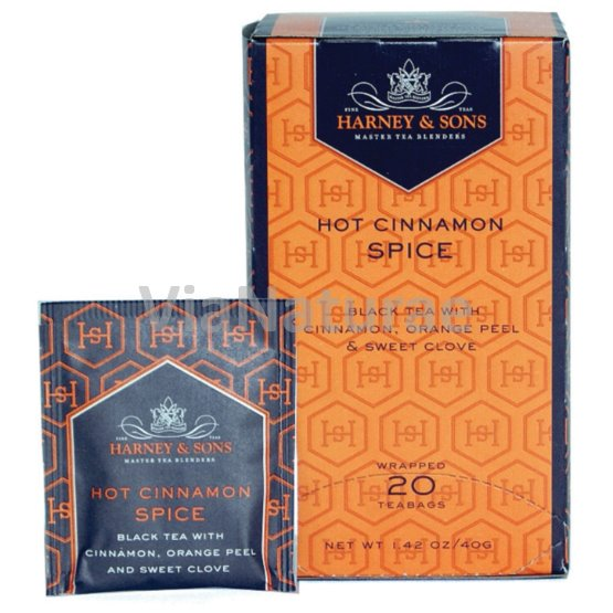 HARNEY AND SONS - HOT CINNAMON SPICE 20 ks