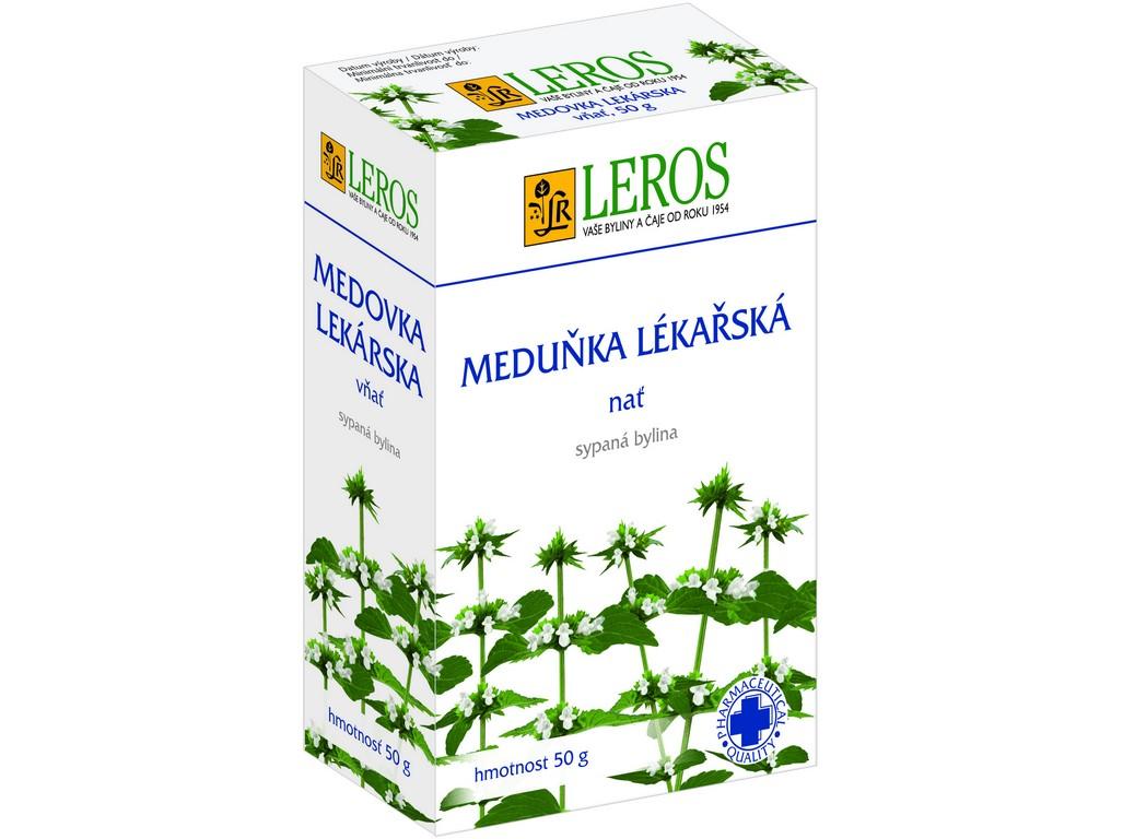 Leros Meduňka - nať 50g