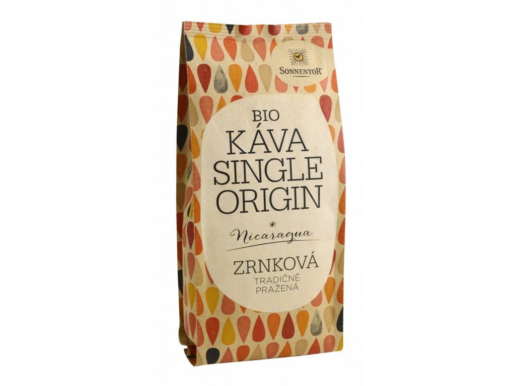 SONNENTOR Bio Káva Single Origin Nikaragua, celá zrna 250g