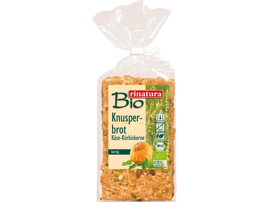 Rinatura Bio Knäckebrot sýr a dýňové semínko 200g