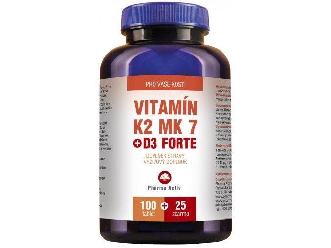 VITAMÍN K2 MK7 + D3 FORTE
