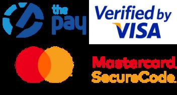 Možnost platby kartou, či online bankovním převodem přes platební bránu ThePay