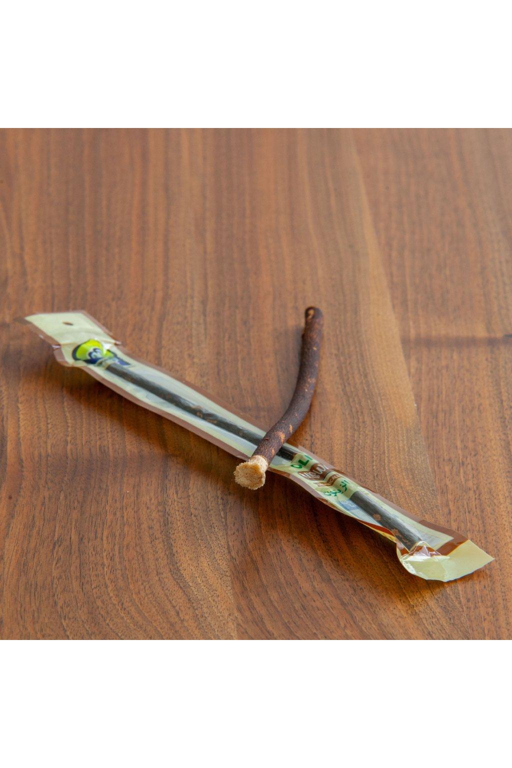 Přírodní zubní kartáček z olivovníku, zn. Al Khair