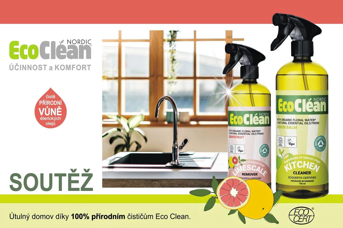 SOUTĚŽ NA FACEBOOKU O 100% PŘÍRODNÍ ČISTIČE ECO CLEAN