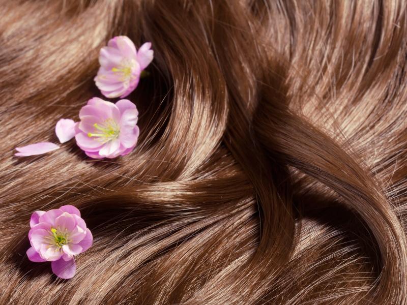Přírodně na lesk vlasů