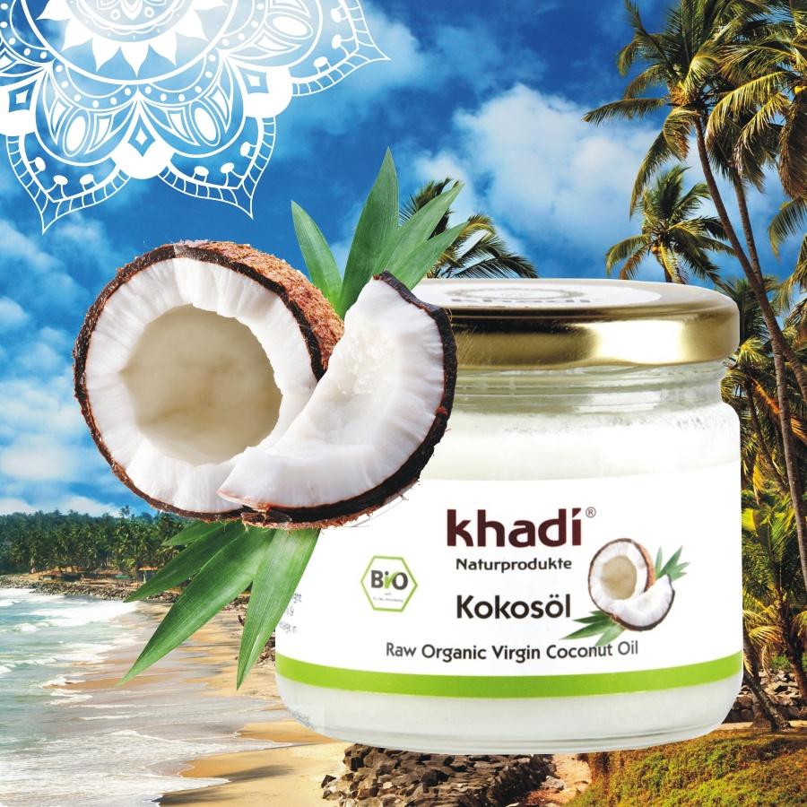 Khadi kokosový olej