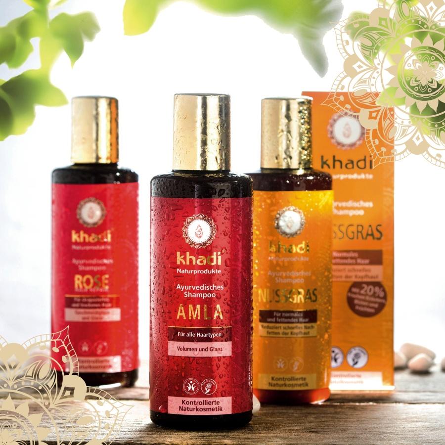 Khadi šampóny