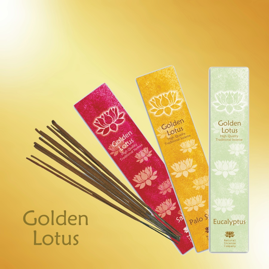 Vonné tyčinky Golden Lotus