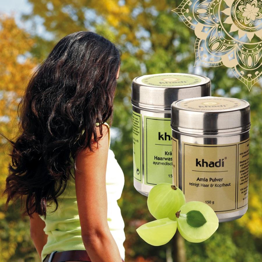 Khadi bylinné prášky (šampóny a kondicionéry)