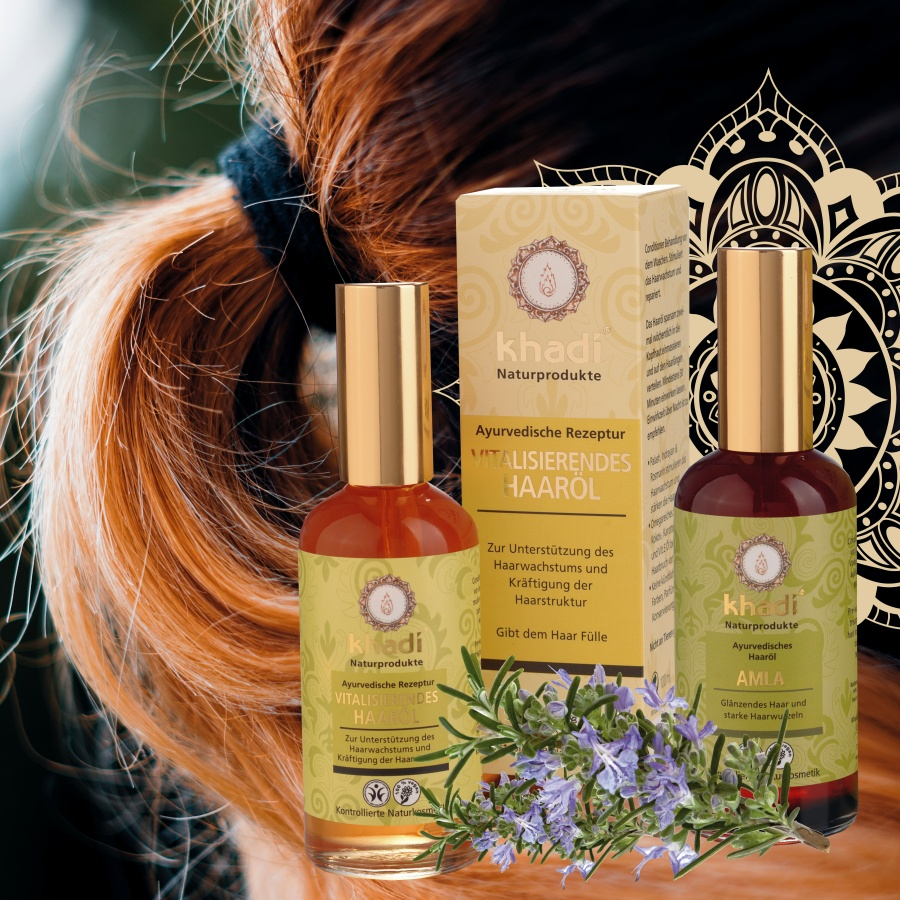 Khadi vlasové oleje