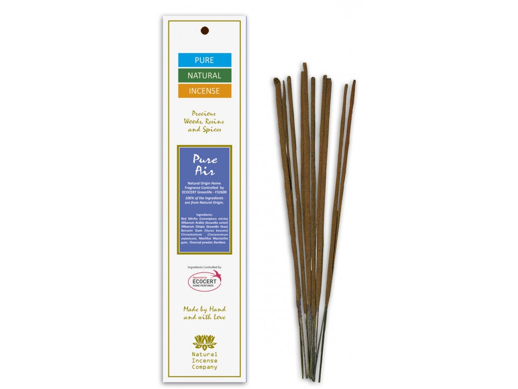 P3 Pure Natural Incense Čistý vzduch