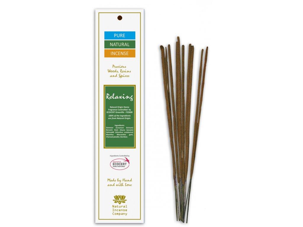 Vonné tyčinky Pure Natural Incense - Relaxační