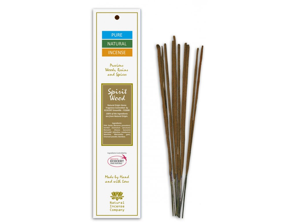 Vonné tyčinky Pure Natural Incense - Duch dřeva