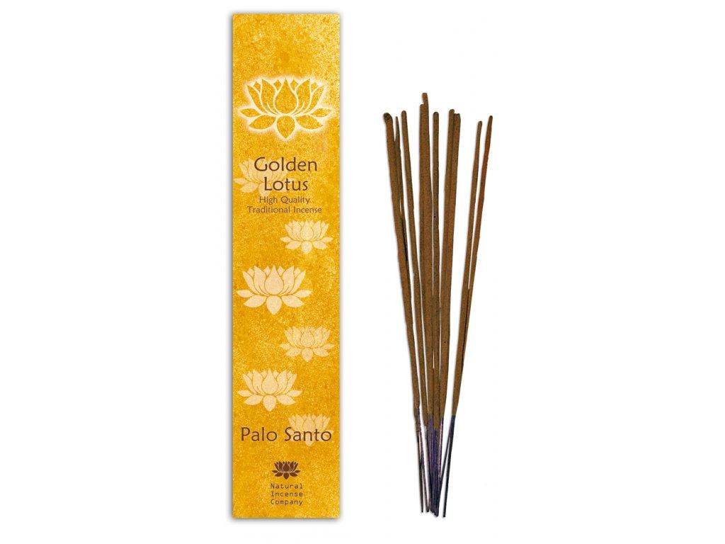 Golden lotus Svaté dřevo