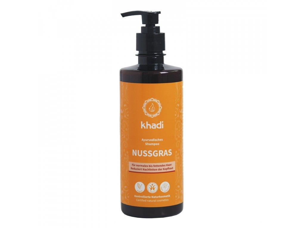 Khadi šampón Ořechová tráva 500 ml 1600x1600
