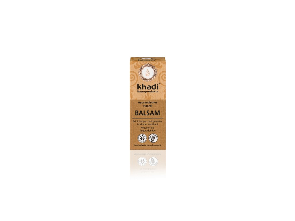 136 10 Khadi vlasový olej Balzám 10 ml