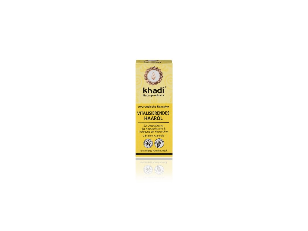 137 10 Khadi vlasový olej Vitalita 10 ml