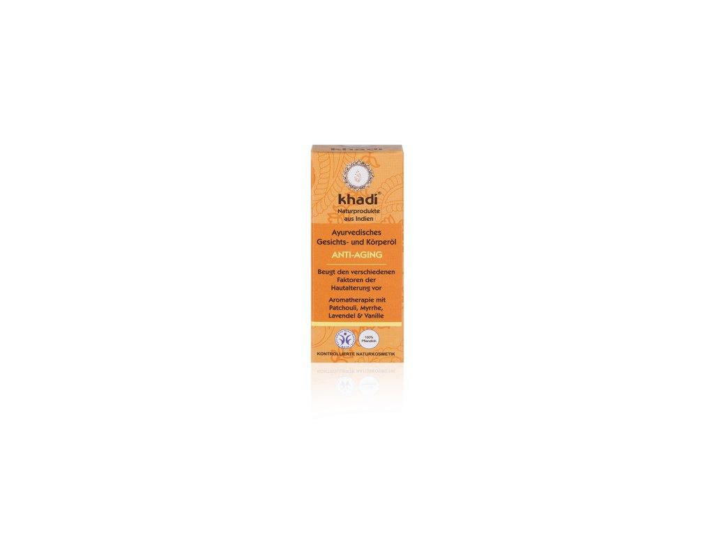 153 10 Khadi pleťový a tělový olej Anti aging 10 ml