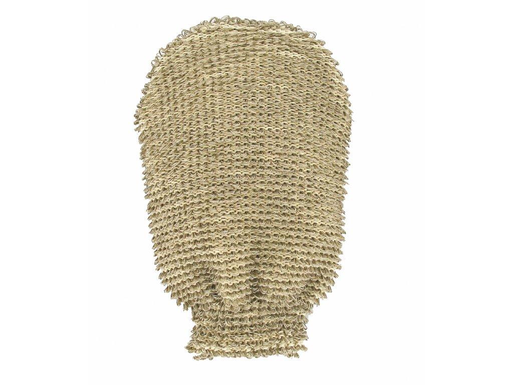 Förster´s masážní rukavice - bio len - hrubá