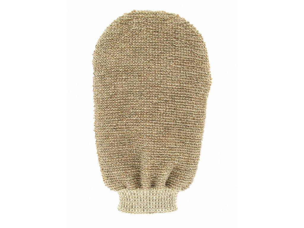 Förster´s masážní rukavice - bambus - 2 strany s 2 hrubostmi