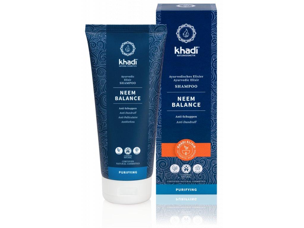 Khadi elixír šampón NEEM BALANCE