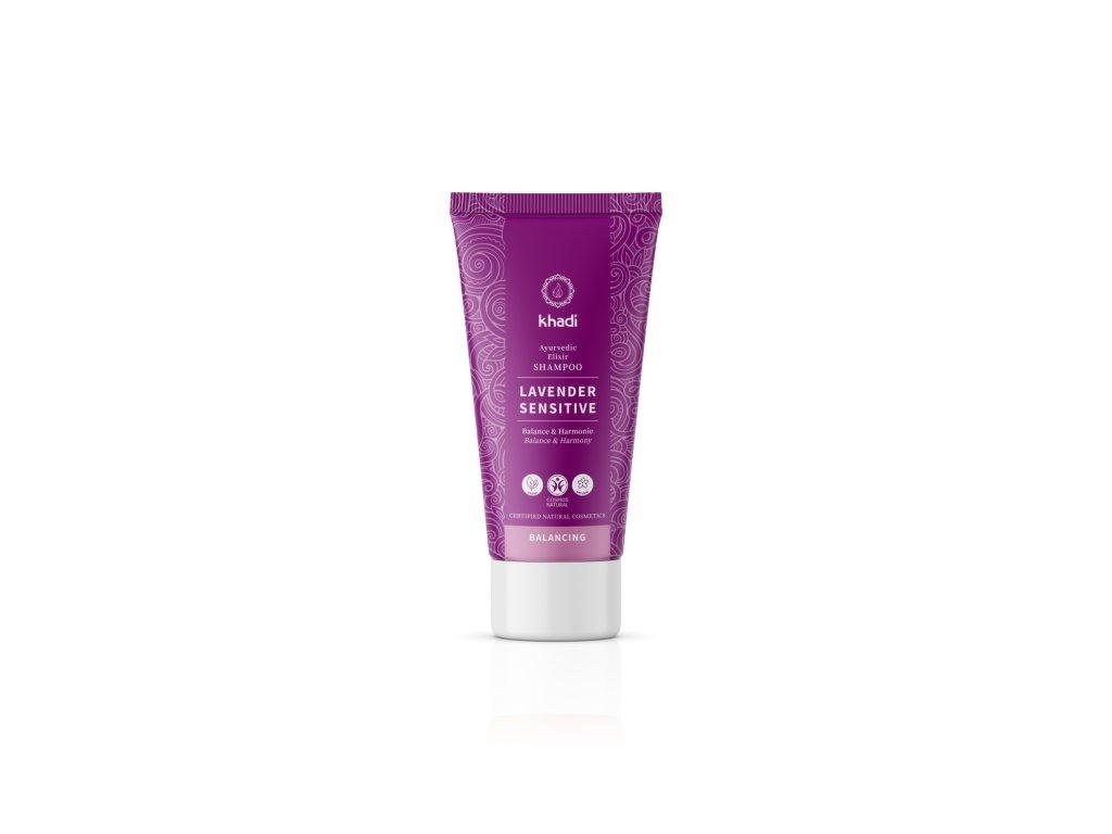 Khadi elixír šampón LEVANDULE SENSITIVE 30 ml