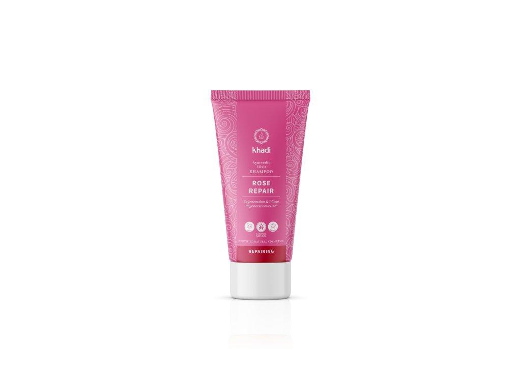 Khadi elixír šampón RŮŽE REPARACE 30 ml