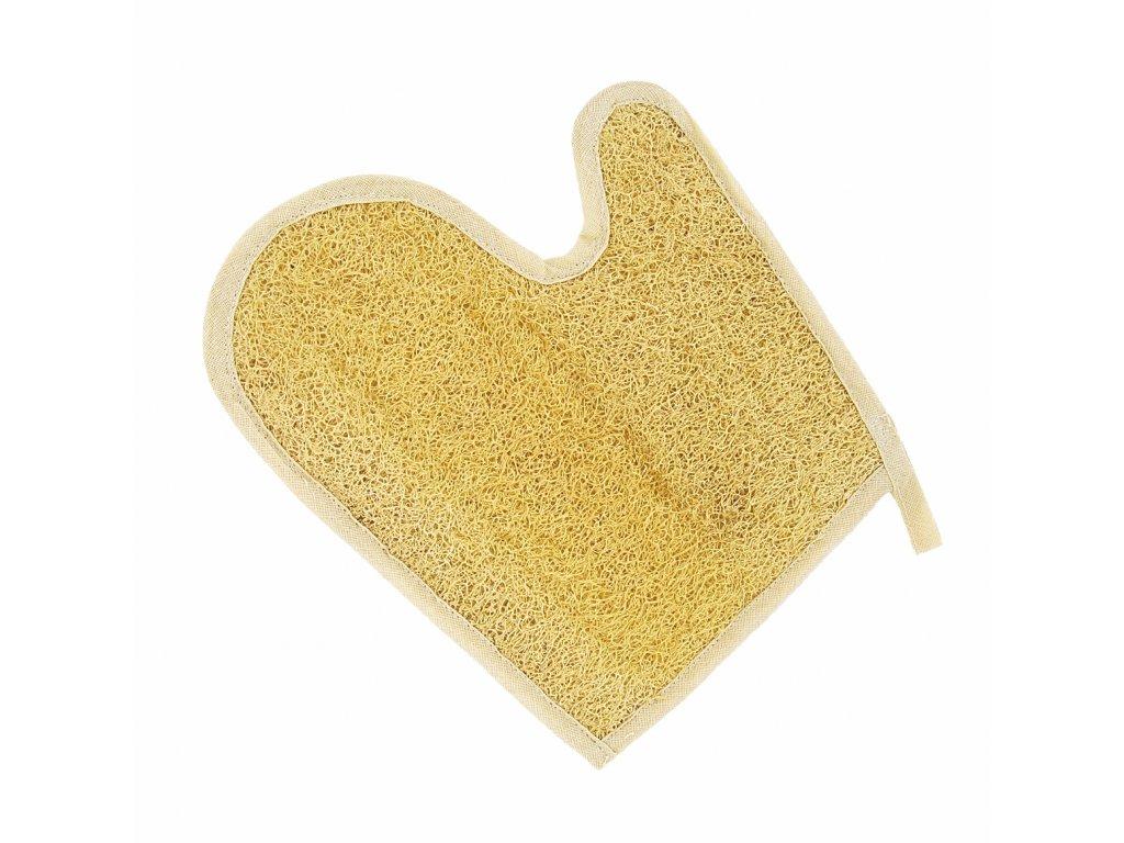 Förster´s masážní rukavice palcová - bio lufa