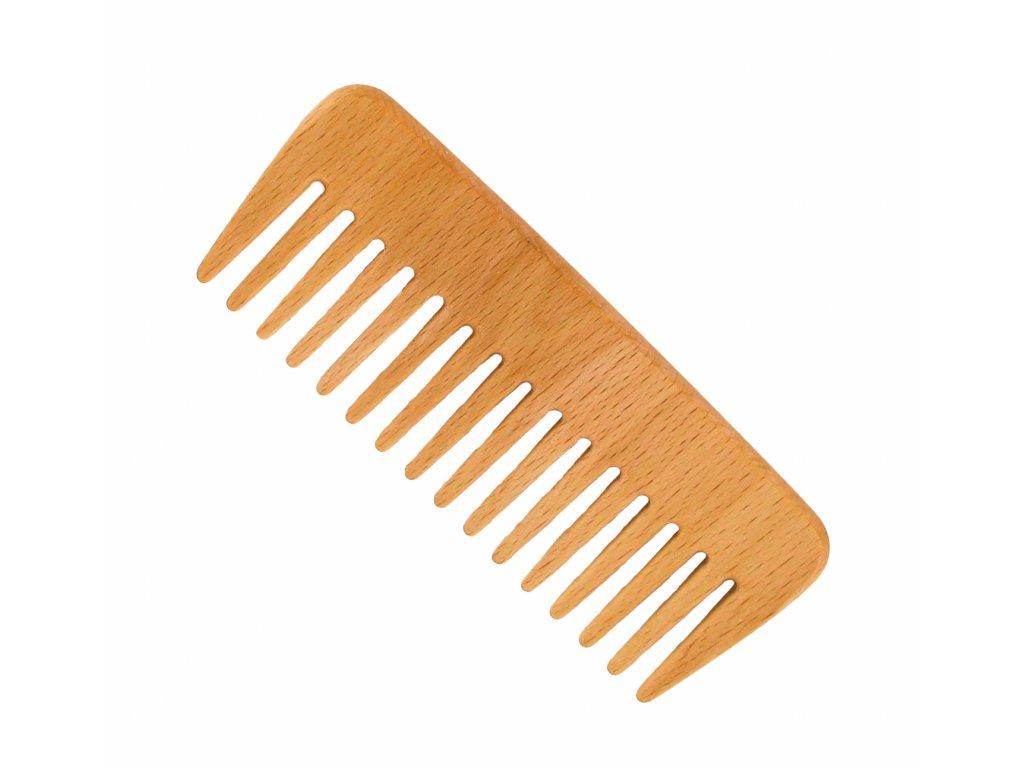 Förster´s vlasový hřeben z FSC certif. bukového dřeva - s řídkými zuby - široký
