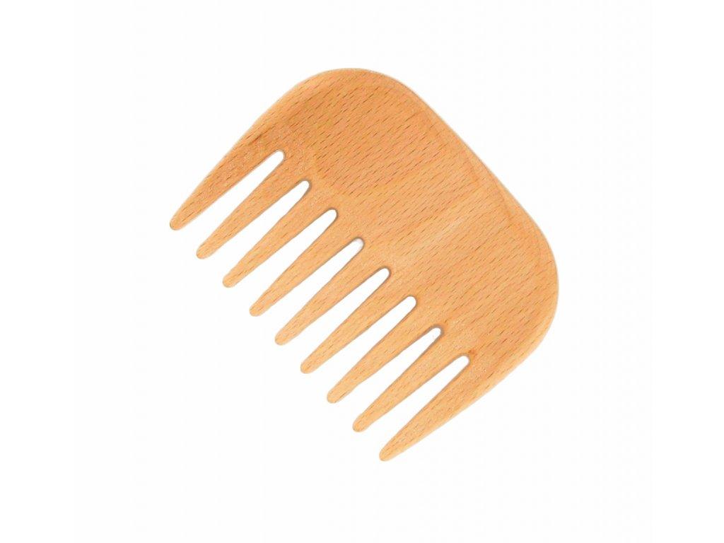 Förster´s vlasový hřeben z FSC certif. bukového dřeva - s řídkými zuby - malý - afro