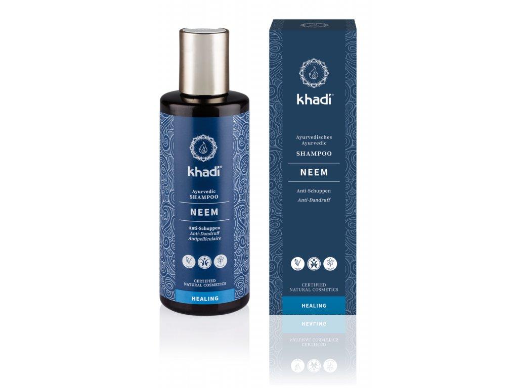 Khadi šampón Neem.