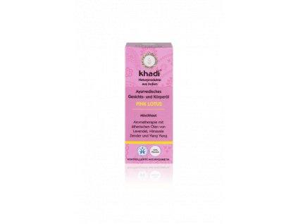 163 10 Khadi pleťový a tělový olej Růžový lotos 10 ml