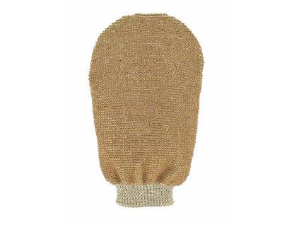 Förster´s masážní rukavice - bio len - 2 strany s 2 hrubostmi