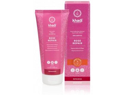 Khadi elixír šampón RŮŽE REPARACE