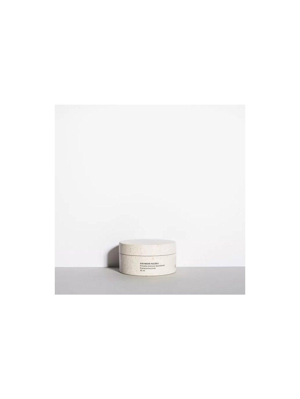 Kvetinová pazuška jemný krémový dezodorant