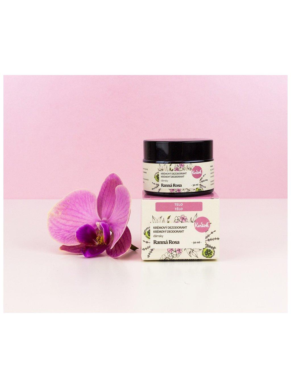 Krémový deodorant Ranní rosa