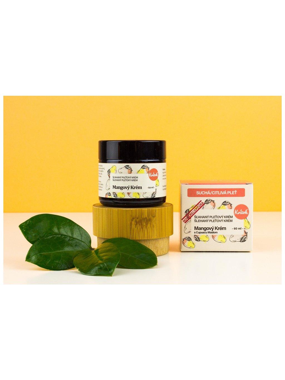 Mangový krém s Cupuacu máslem pro suchou / citlivou Pleť