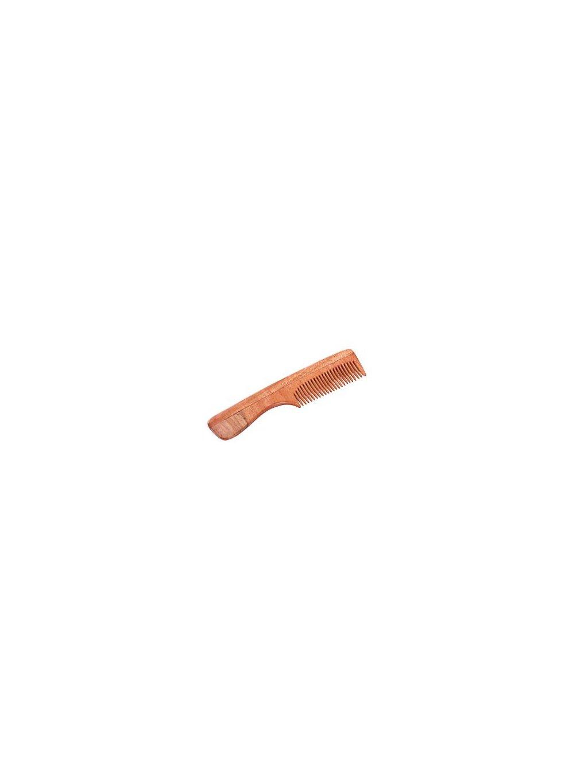 Hřeben z nimbového dřeva – s rukojetí
