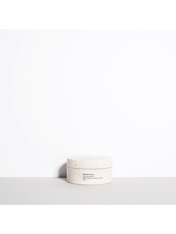 Krémový deodorant Mátová fialka