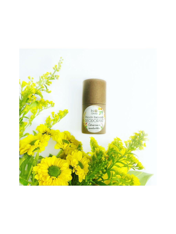 Papírový obal: BEZSODÝ deodorant Citronová meduňka